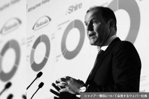 第99回 株価低迷は武田の将来に対する市場の意思表示