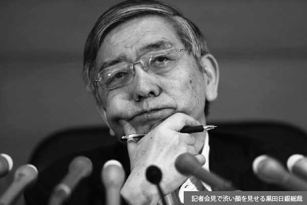 「物価上昇率2%達成」で狼少年化する黒田日銀総裁