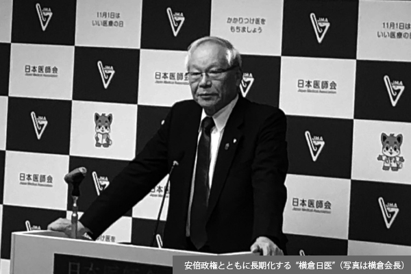 高まる「横倉5選論」、次期日医会長選へ早くも駆け引き