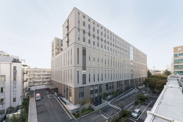 慶應義塾大学病院 新病院棟(東京都新宿区)