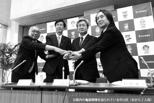 日医を2つに割った会長選、団結願う横倉氏の思い届かず